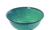 Grüne Keramikschale von Serax, 18 cm