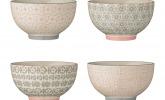 4er Set Keramikschüsseln von Bloomingville, 13,5 cm