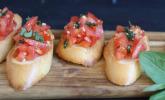 Platz 28: Bruschetta mit Tomaten und Knoblauch
