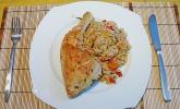 Peruanischer Huhn-Reis-Eintopf