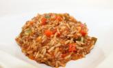 Paprika-Hackfleisch-Reis-Eintopf