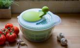 Salatschleuder, transparent/apfelgrün