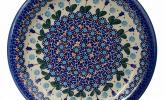 BCV klassischer handbemalter bunzlauer Keramikteller