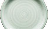 Hellgrüner Keramikteller von Mäser
