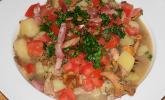 Kartoffeleintopf mit Pilzen