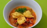 Schneller Hack-Gemüse-Eintopf mit Tortellini