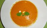Orangen - Möhrensuppe