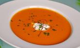 Möhren-Cremesuppe