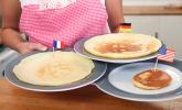 Platz 2: Pfannkuchen, Crêpe und Pancake
