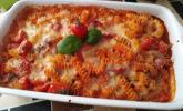 Platz 24: Cremiger Nudelauflauf mit Tomaten und Mozzarella