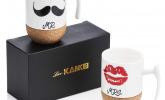 Mr & Mrs Kaffeetassen-Set