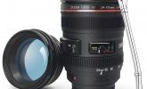 Kameraobjektiv-Tasse für Fotoliebhaber