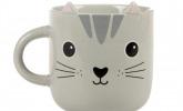 Süße Kaffeetasse für Katzenliebhaber