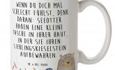 Kaffeetasse mit Otter-Motiv