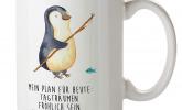 Niedliche Pinguin-Tasse