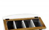 Besteckkasten mit Glasdeckel