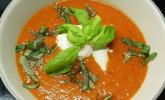 Pfeffrige Tomatensuppe