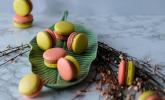 Schoko-Ovomaltine-Macarons