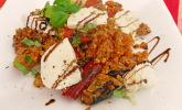 Couscous - Salat mit Ratatouille - Gemüse