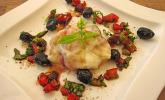 Umhüllte Mozzarellascheiben mit Ratatouille – Füllung