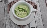 Erbsen-Quark-Dip mit Pesto