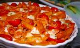 Platz 12: Cremiger Nudelauflauf mit Tomaten und Mozzarella