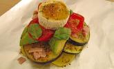Kartoffel-Gemüse-Ziegenkäse-Päckchen