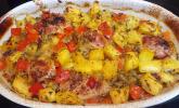 Hähnchen mit Ananas