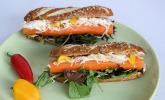 Vegetarischer Burger / Hot Dog