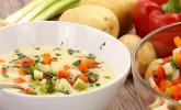Platz 30: Kartoffelsuppe mit Gemüseeinlage