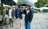 Der Viktualienmarkt überzeugt selbst bei Regen