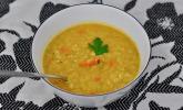 Scharfe Asiatische Thai Suppe vegetarisch