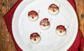 Weihnachtsmänner-Kekse