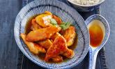 Chinesisches Zitronenhühnchen süßsauer