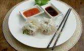 Dim Sum - gedämpfte, chinesische Teigtaschen