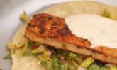 Vorspeise: Vegetarischer Soft Taco & Spinach Artichoke Dip