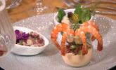 Vorspeise: Shrimp-Polvo – Tintenfischsalat (Salada de Polvo)