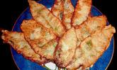Bärlauch in Parmesan-Sekt-Kruste