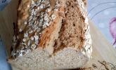 Brot ohne Hefe mit Malzbier