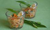 Frühlingshafter Karottensalat mit Bärlauch