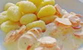 Gnocchi mit Rahm - Möhren
