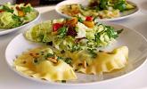 Ravioli mit Spinat-Ricotta in Salbei-Butter