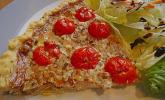 Roquefort-Tomaten-Quiche mit Walnüssen