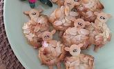 Schäfchenkekse zu Ostern
