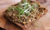 Veganer, crunchy Getreideaufstrich