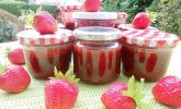 Beschwipste Erdbeermarmelade
