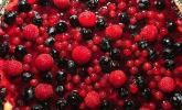 Fruchtiger Beeren - Vanille - Kuchen