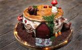Himbeer - Schokoladen - Mascarpone - Torte