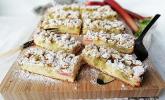 Rhabarber-Streusel-Kuchen mit Joghurt-Teig