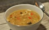 Chinesische süß-sauer-scharfe Suppe